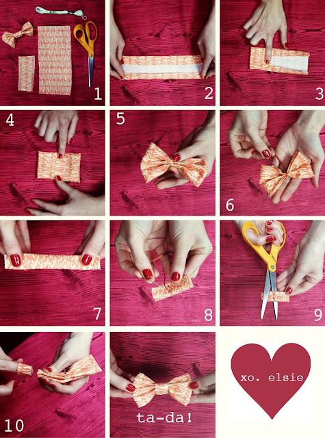 Aprenda a transformar faixas de tecidos em lindos lacinhos