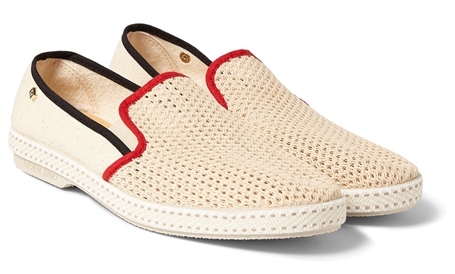 Rivieras-Cotton-Mesh-Slip-On-Shoes