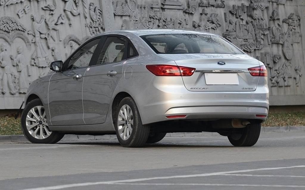 Novo Ford Escort 2015