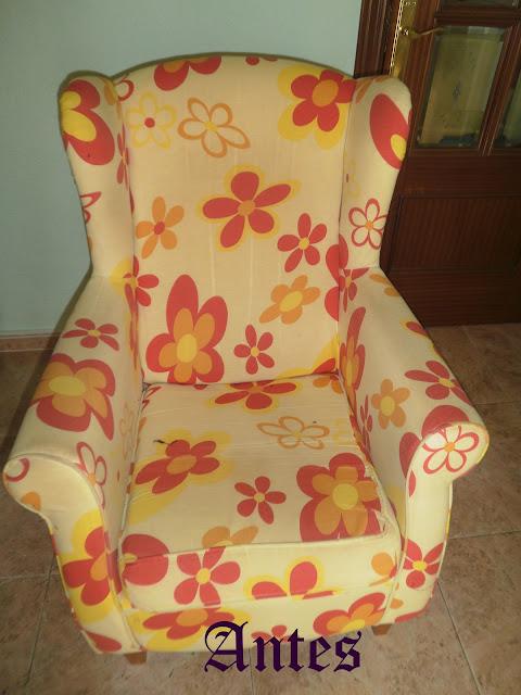 Pasi n por las labores sof sillones y sillas tapizados - Loneta para tapizar ...