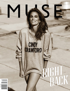 Cindy Crawford on the cover of Muse Magazine Summer 2013 Issue