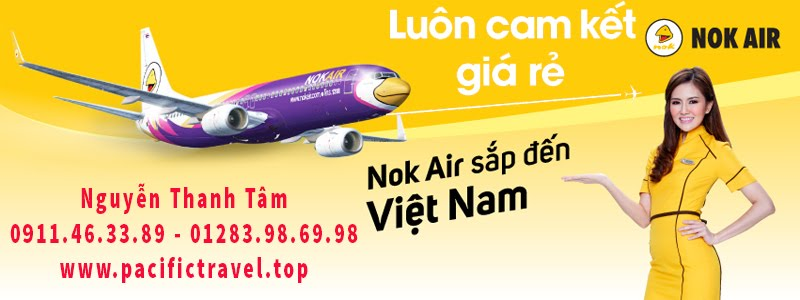 hang may bay nok air sap den viet nam