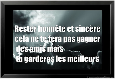 Citation ami en image