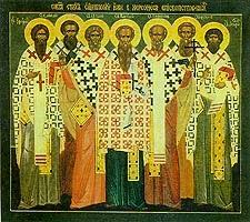 Sfintii Mucenici Episcopi din Cherson: Vasilevs, Efrem, Evghenie, Capiton, Eterie, Agatodor si Elpidie