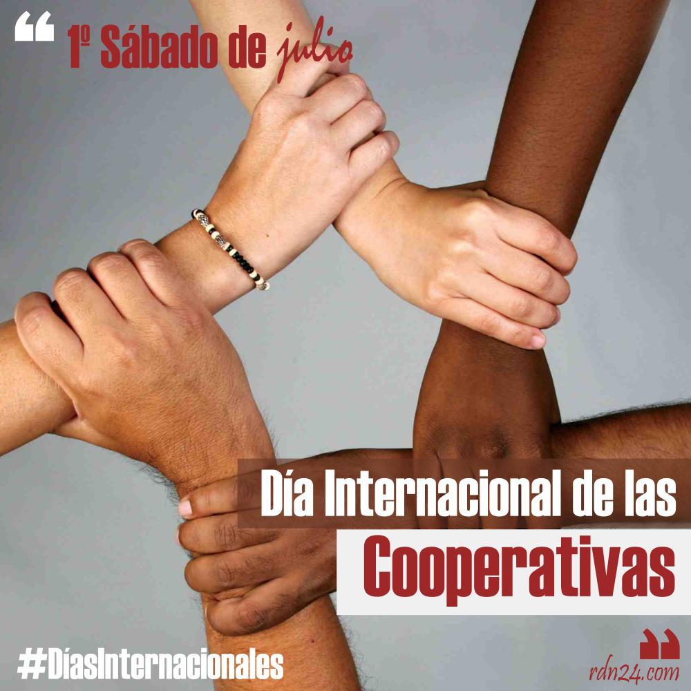 4 de julio – Día Internacional de las Cooperativas #DíasInternacionales