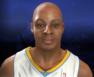 NBA 2K14 Randy Foye Cyberface Patch