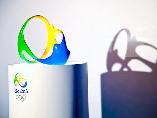 Logo 3D Olimpíadas Rio 2016 - Agência Tátil