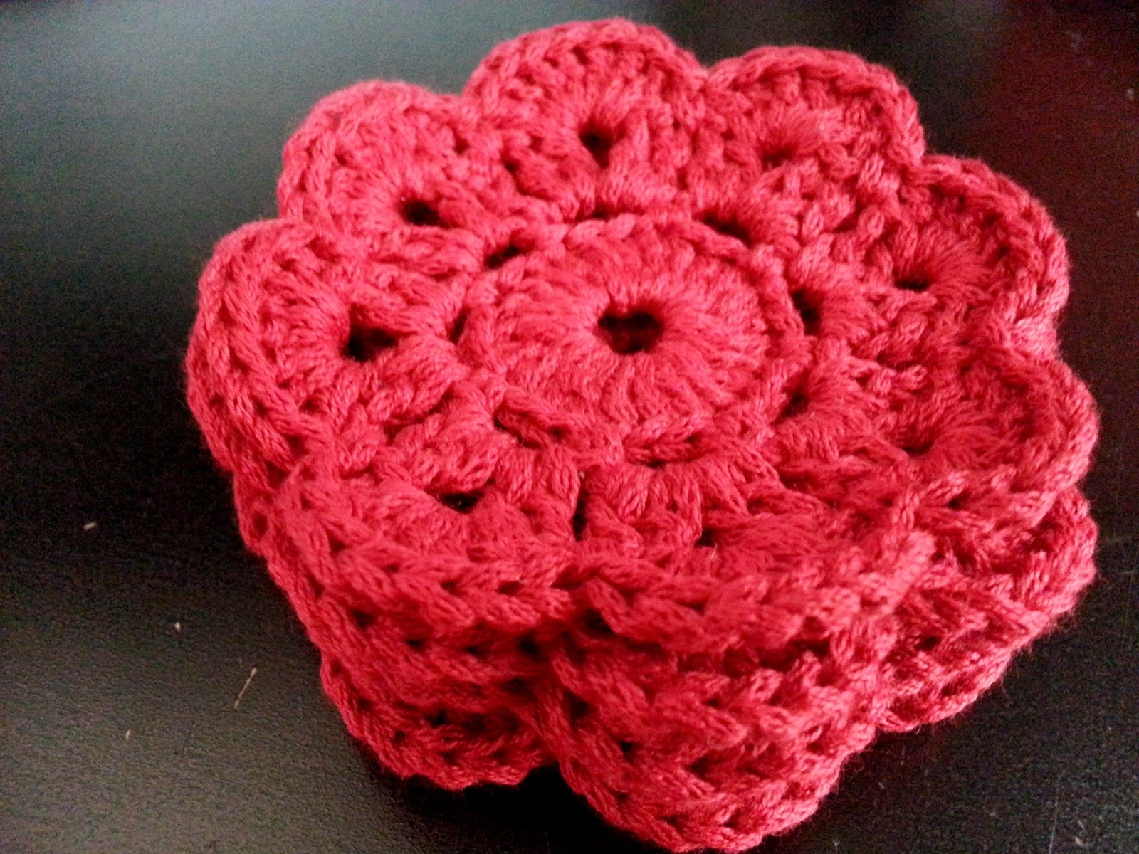 Maybelle crochet flower coasters mmx1 week 2 bag n craft crocheted a total of 6 pieces bankloansurffo Images
