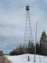 Rapid River Fire Tower in the Big Bog