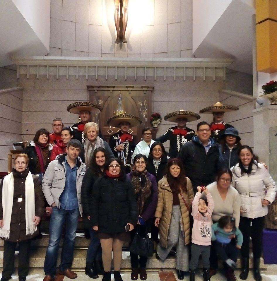 Misa  en Honor a la Virgen de Guadalupe Patrona de México