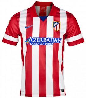 Ahay jersey atl 201 tico madrid 13 14 2013 14 home away kits