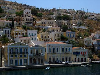 Vistas de Symi - Islas Griegas
