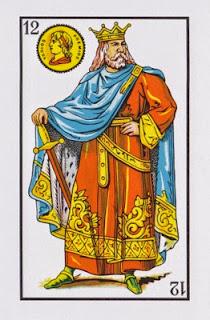 rey de oros baraja española