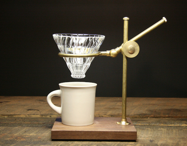 The Coffee Registry Professor Pour Over Stand