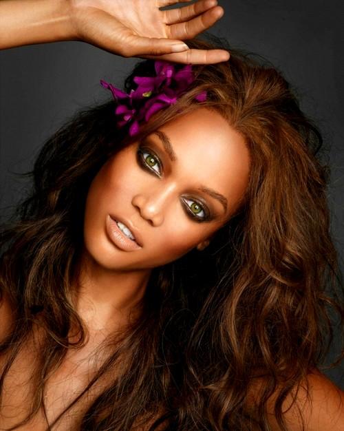 Tyra Banks Makeup Look 2012
