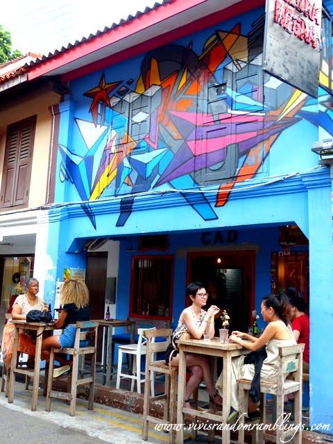 Street Art at Haji Lane, Singapore