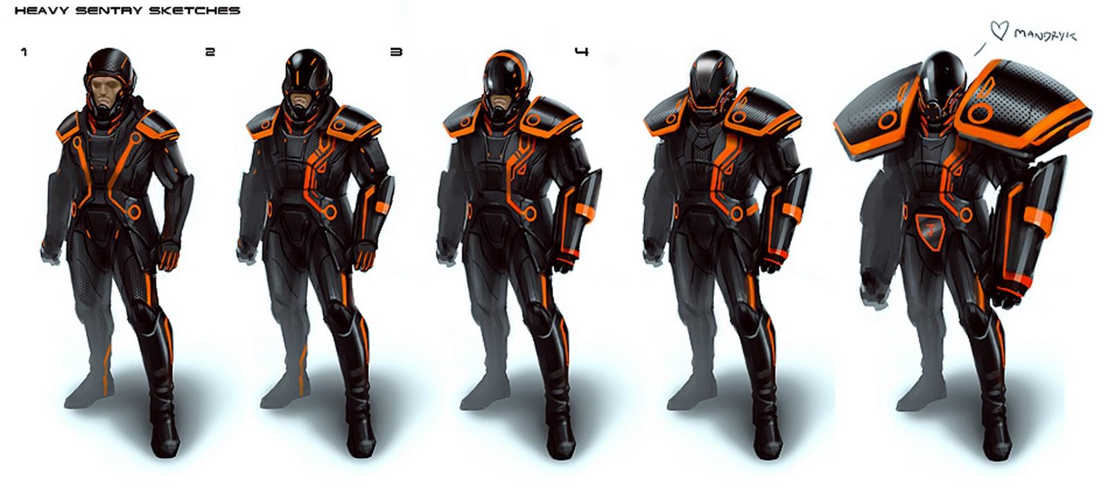 IMAGE(http://1.bp.blogspot.com/-en9Lq6Hhj3E/Tu-eMYtEOfI/AAAAAAAACtQ/QdeSkD3Sc7Q/s1600/heavy+sentrys+exo+suit+space+armor+combat+daryl+mandryk+concept+soldier+armor+tron+mech+mecha+gun+cannon+warrior+sci+fi.jpg)