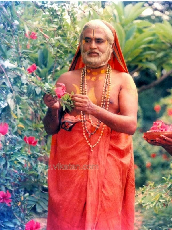 Rajinikanth in 'Sri Ragavendra' (1985) Tamil Movie