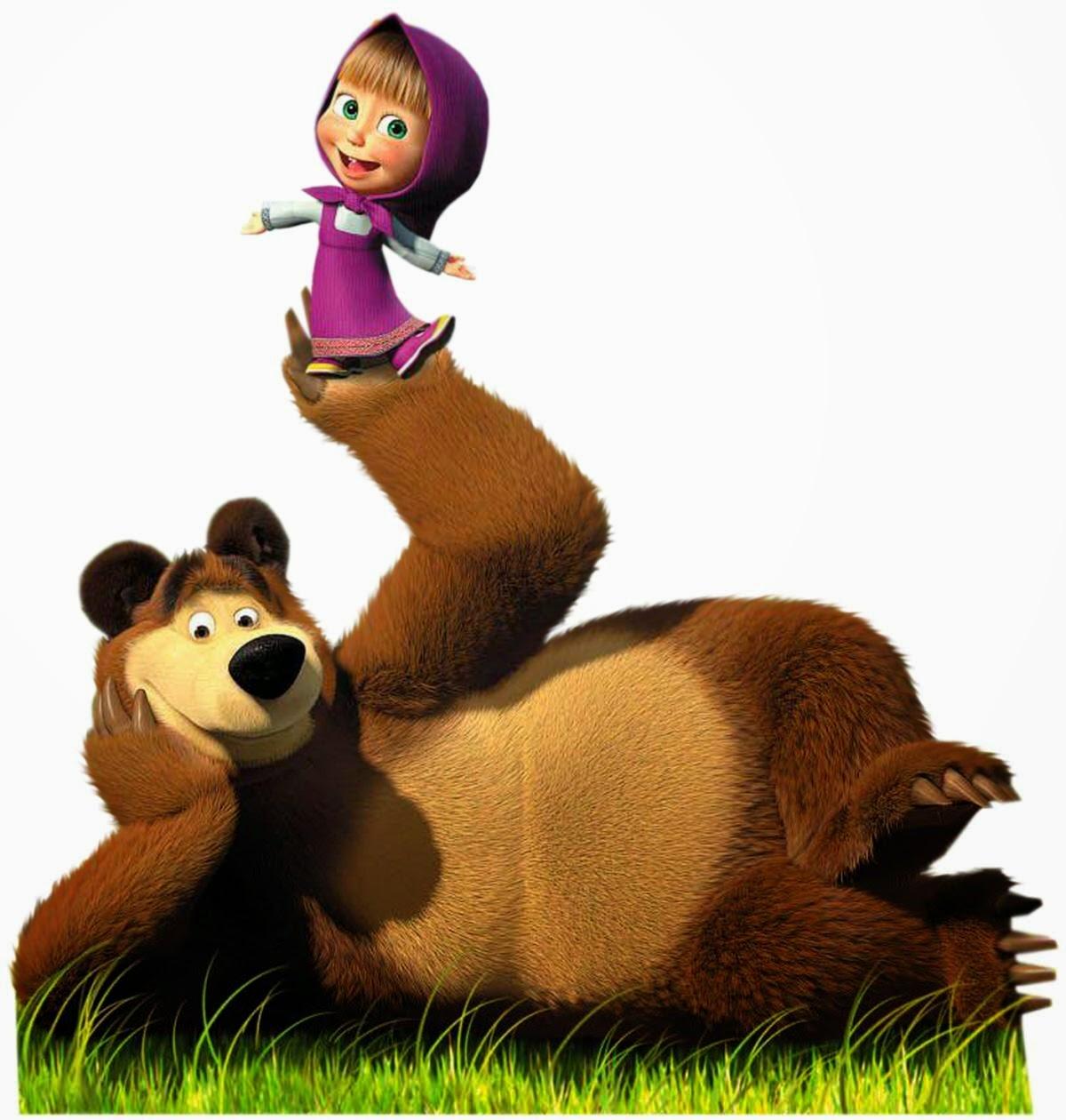 gambar kartun beruang