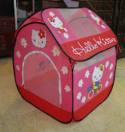 New Hello Kitty PlayTent with Bag ,RM75 only Free 25pcs plastic ball!!!