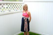 DIY Maternity Dress