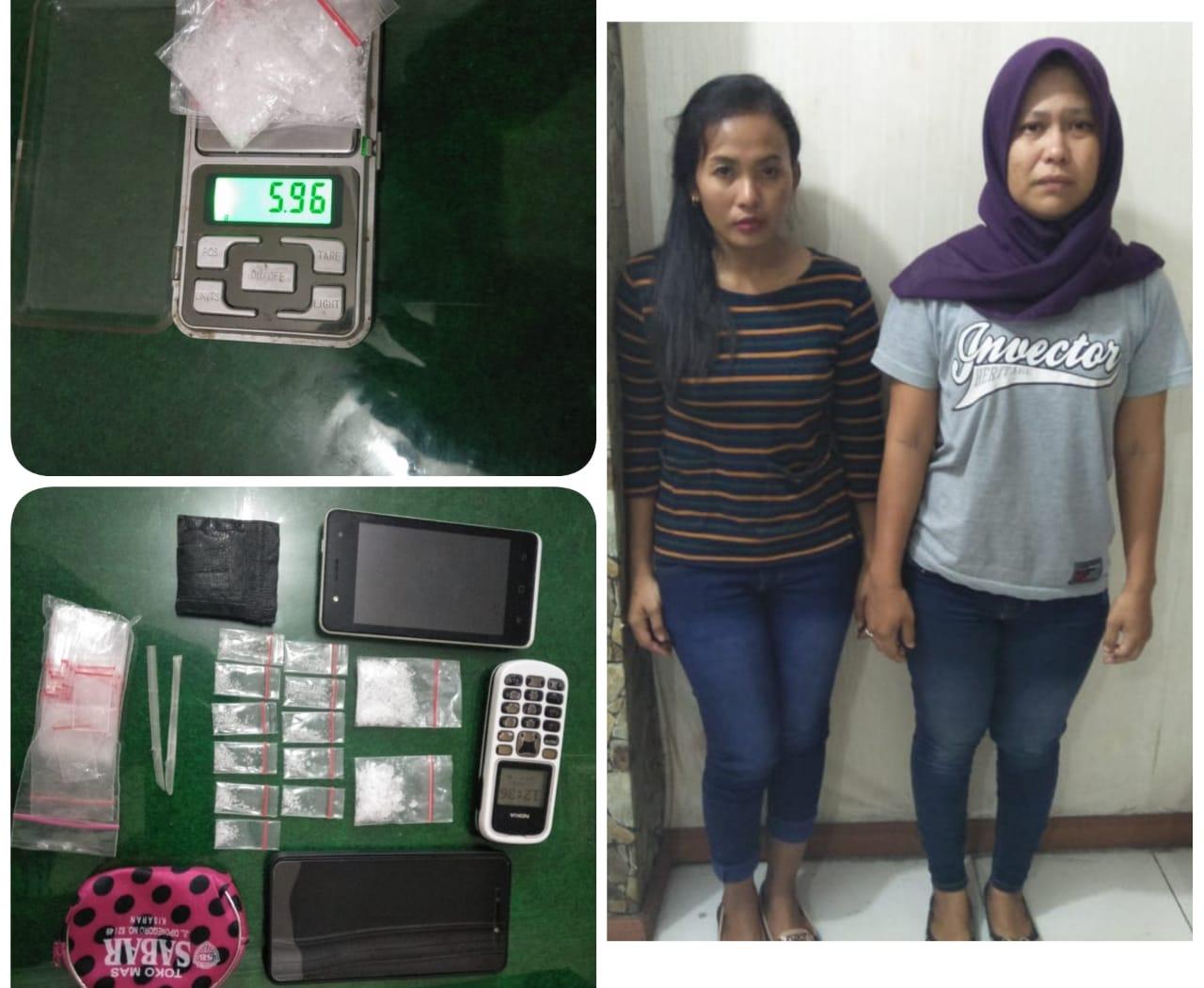 Alamak ! Dua Ibu Muda Tersandung Kasus Narkoba
