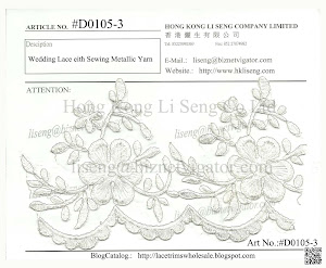 Wedding Lace Manufacturer and Wholesale - Hong Kong Li Seng Co Ltd