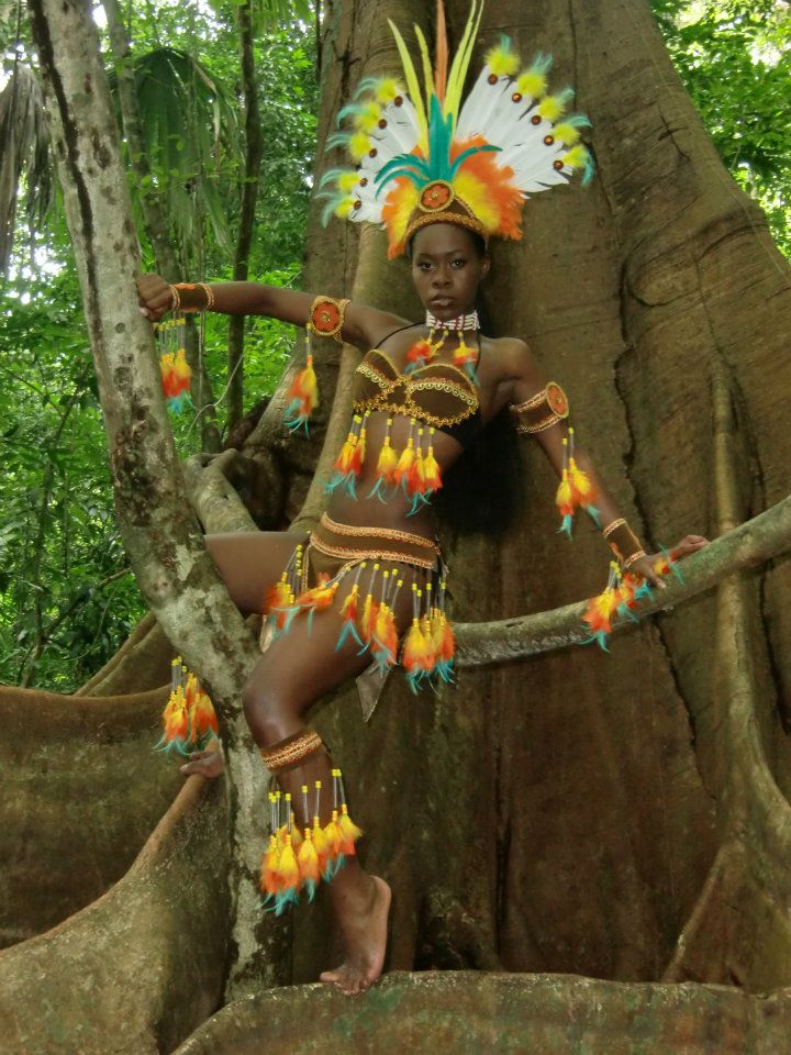Melanie George,miss earth trinidad & tobago 2011,forest warrior