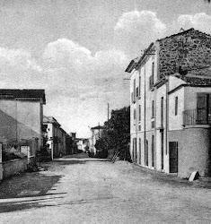 La vecchia via Soldato Ignoto - anni Quaranta (XX secolo)