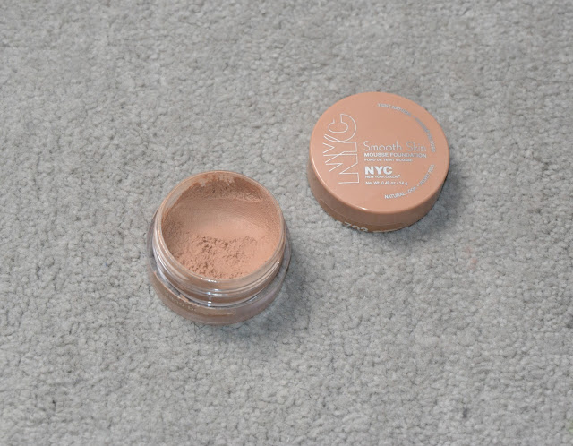 Review: NYC Smooth Skin Mousse Foundation