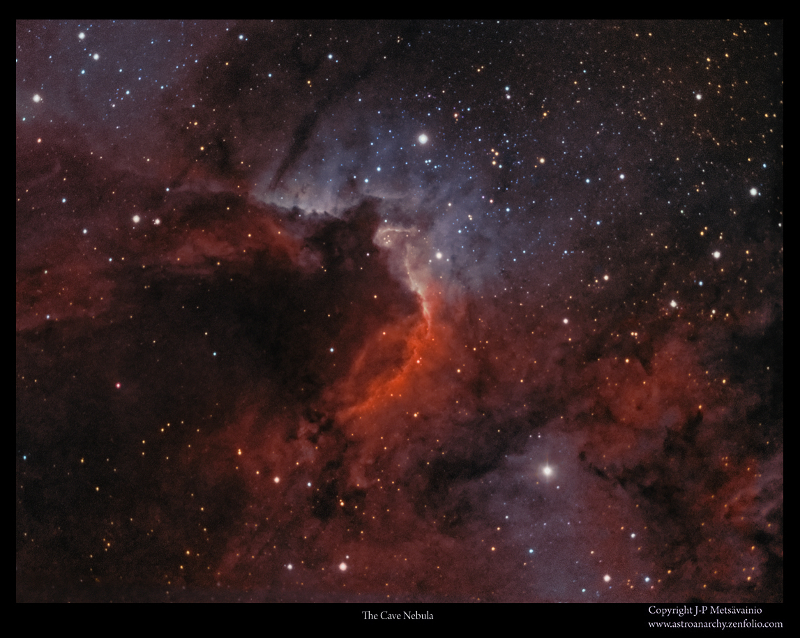 cave nebula narrow band - photo #21