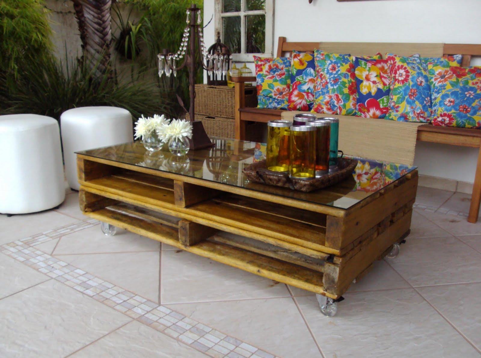 Mucho Luxo: Móveis com pallets #9A7931 1600x1191