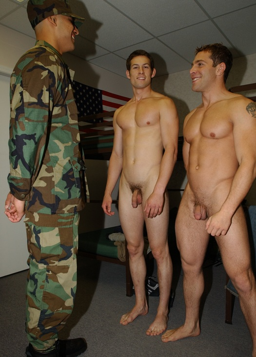Military Boy Receive Serviced