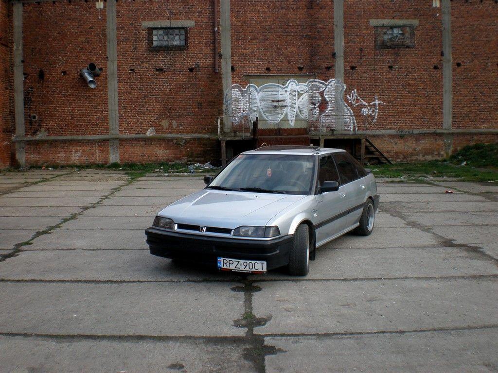 Honda Concerto, wygląd, przód, samochody z lat 90