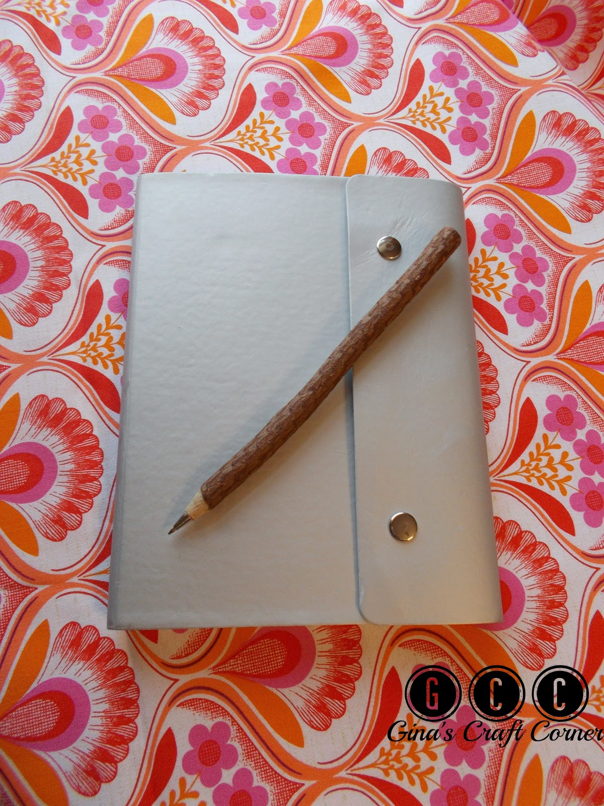 Quick Tip Saturday # 3: Create A Fabric Journal by Ginas Craft Corner