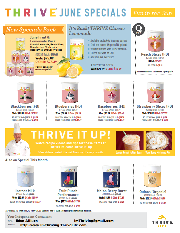 http://ImThriving.ThriveLife.com/June-specials.html