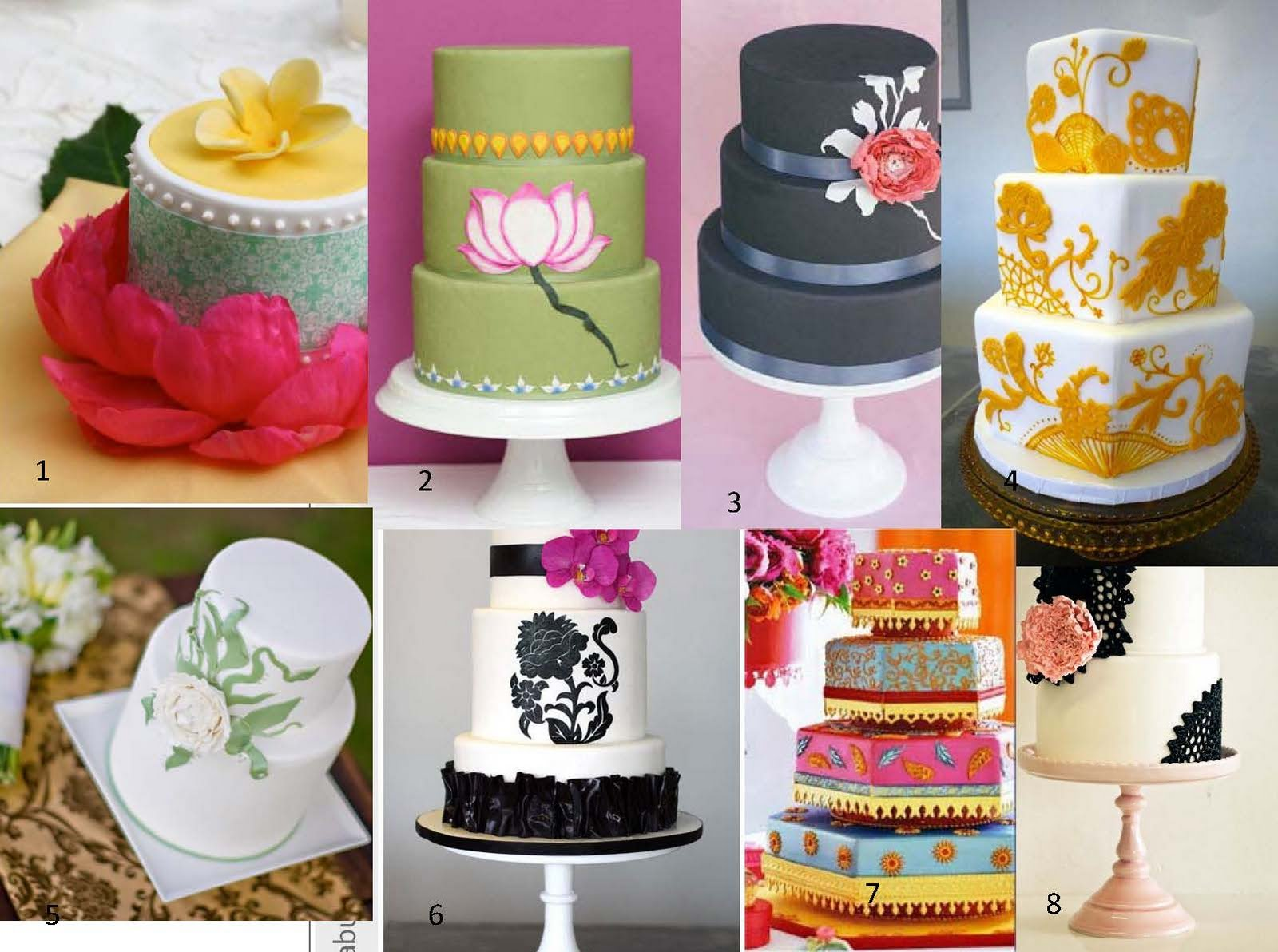 Modern Indian Wedding Cake Design Pictures Gallery