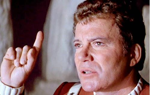 william shatner star trek five v the final frontier uss enterprise khan klingons spock mccoy chris pine