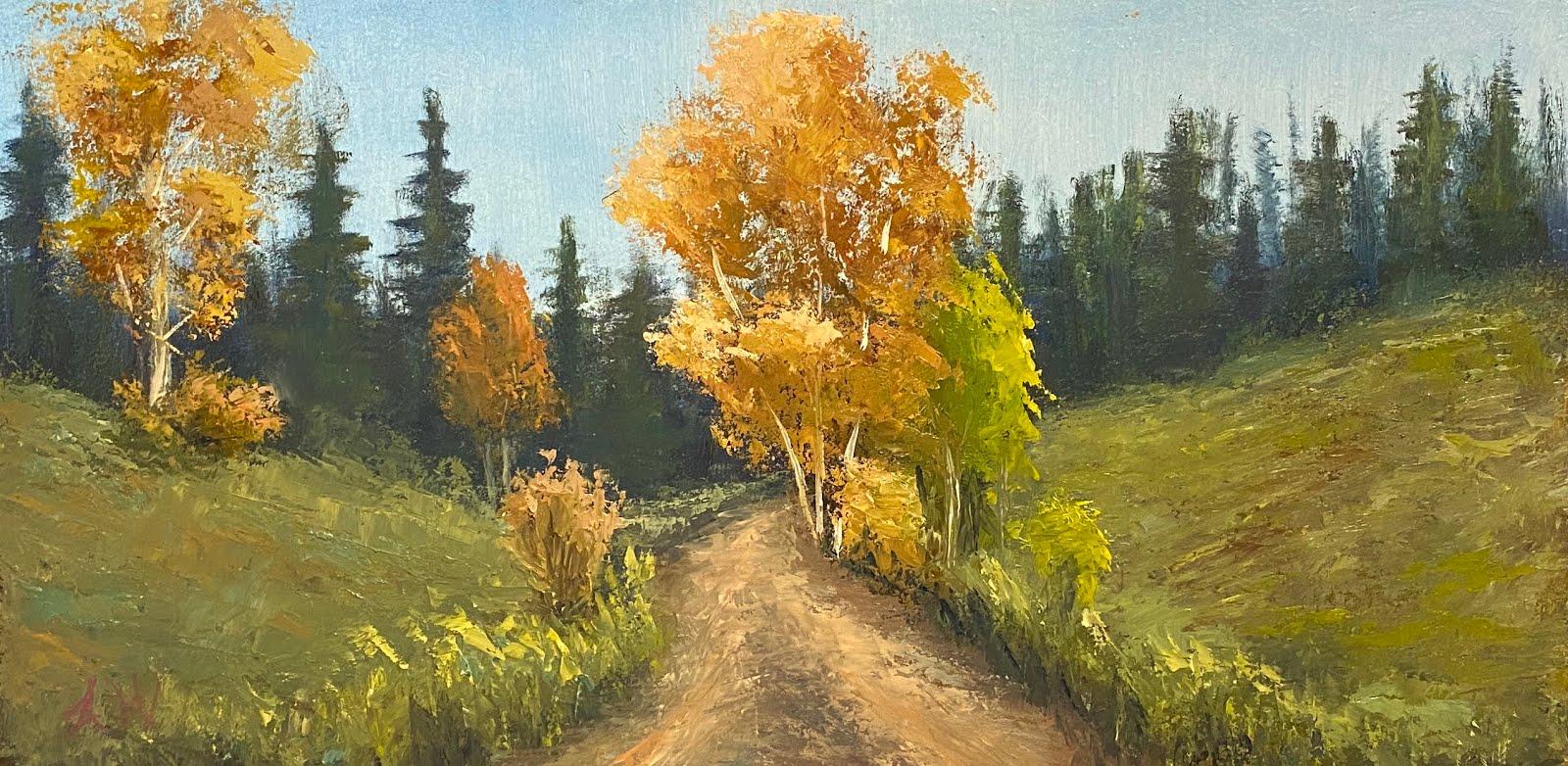 """Mountain road"""