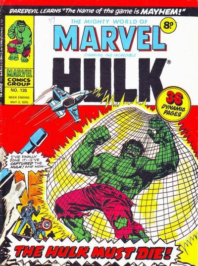 Mighty World of Marvel #135, the Hulk