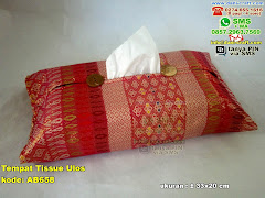 Tempat Tissue/ Tisu Kain Songket