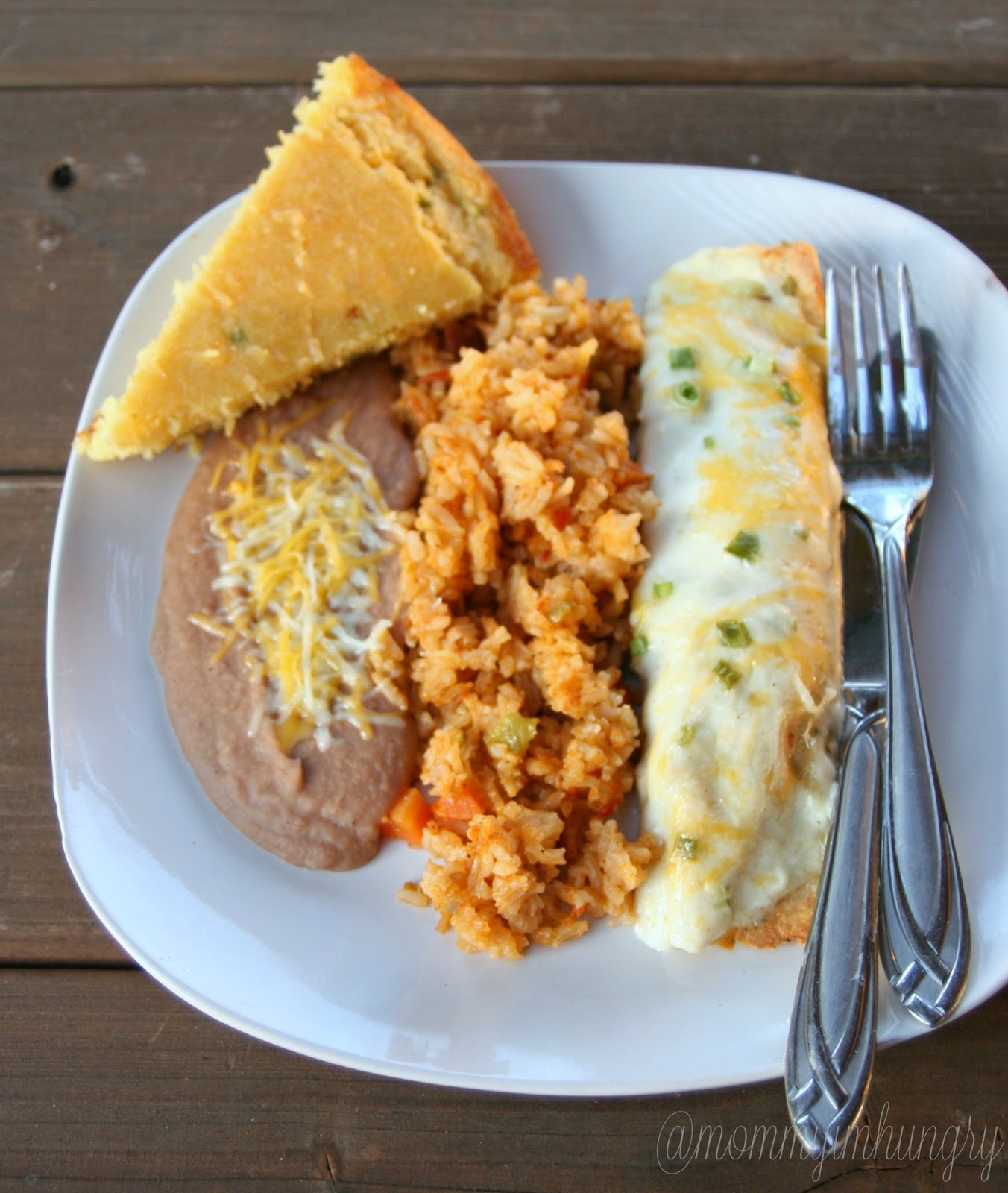 MIH Recipe Blog: Sour Cream Chicken Enchiladas