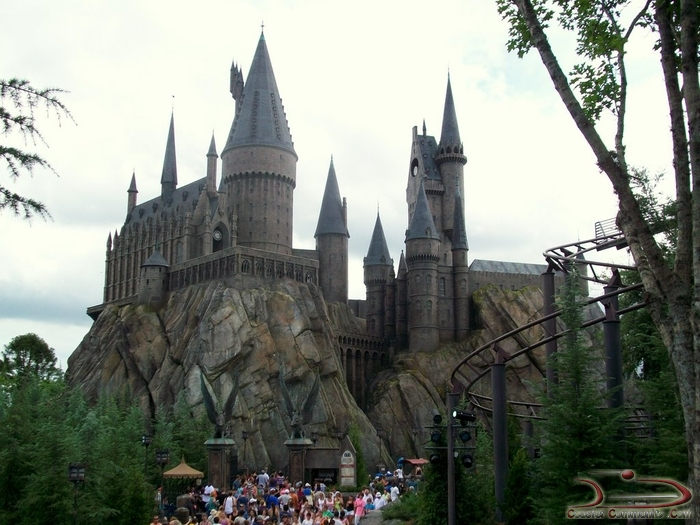 And exploring every inch of Hogwarts Castle