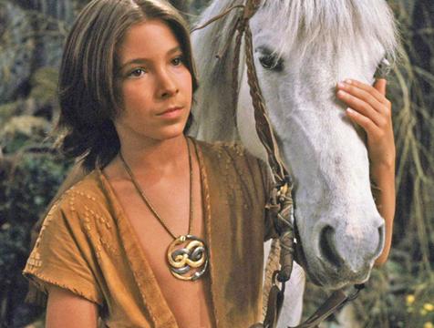 Atreyu (Noah Hathaway) y su caballo Ártax en La historia interminable - Cine de Escritor