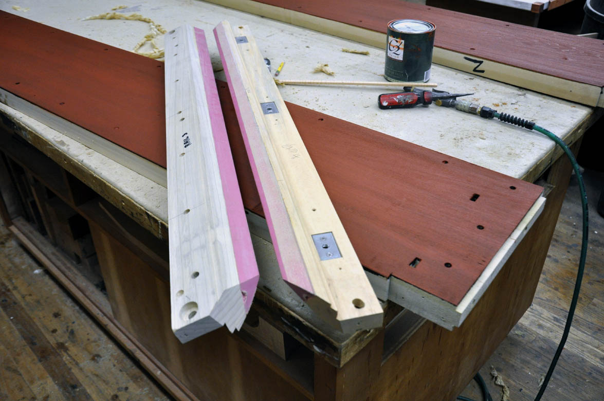 dorset custom furniture a woodworkers photo journal - How To Make A Pool Table