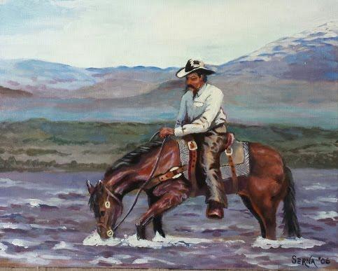 Ed Sanchez - Cowboy