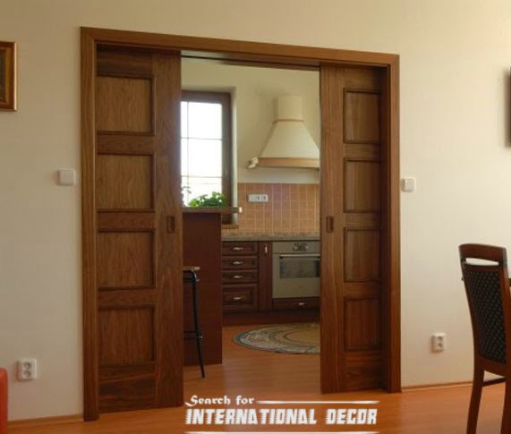 Top designs of interior sliding doors latest trends for Wooden sliding doors
