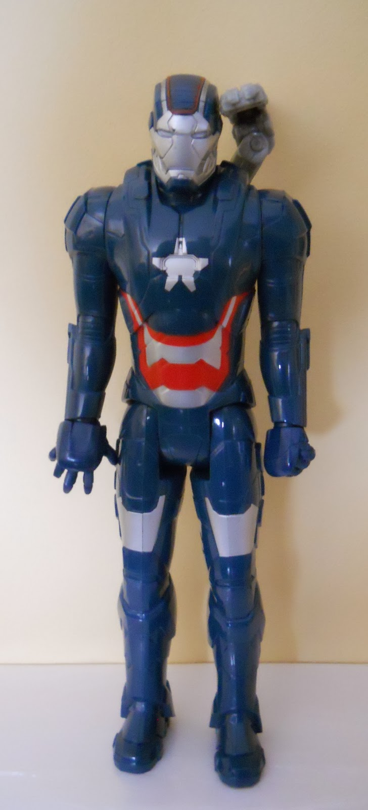 maqueta de ironman patriot