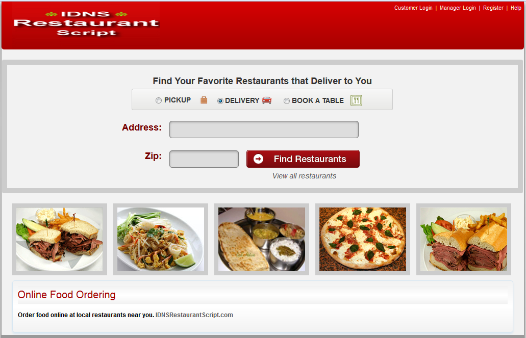 PHP builder: Top 6 Open Source PHP Restaurant Menu Scripts