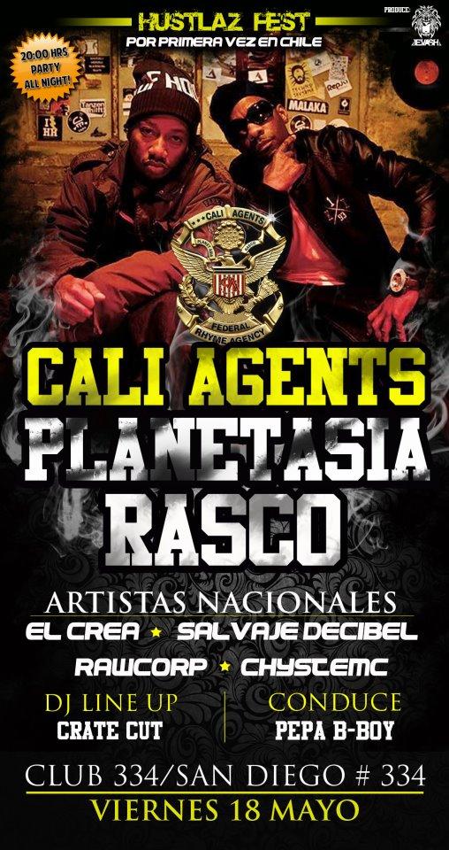 GoodRapMuzik!: Cali Agents en Chile